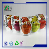 Sacchetto impaccante del sacchetto di frutta dell'OEM della bevanda di plastica irregolare stampato abitudine del succo