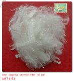 Fibra de grampo de poliéster do Hcn e baixa fibra de grampo de poliéster do derretimento