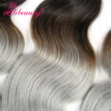 Qualität Ombre Farbe Remy Haar spinnt kambodschanisches Menschenhaar