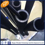 Le fil d'acier à haute limite élastique tressé/s'est développé en spirales tuyau en caoutchouc hydraulique