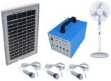 Systeem van de Macht van het Huis van de fabriek het Originele 100W Zonne Draagbare met de Televisies van de LEIDENE Ventilators van Lampen