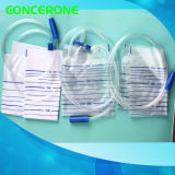Wegwerfbarer medizinischer Urin-Entwässerung-Beutel, Auffangbehälter