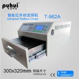 Forno do Reflow de SMT, máquina de solda do PWB. Forno T-962A do Reflow do diodo emissor de luz SMT, máquina de solda Puhui T962A da onda