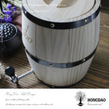 Hongdao 포도 수확 색깔 나무로 되는 배럴