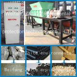 Plastic/het Leven Huisvuil/Ontvezelmachine van de Schacht van het Rubber/van de Schroot de Dubbele