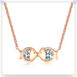 方法ネックレスの魅力の宝石類のステンレス鋼のネックレス(NK1099)