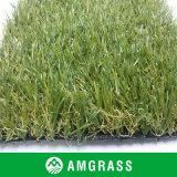 Пластичная циновка палубы и синтетическая трава для сада
