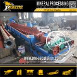 Installatie van de Was van het Logboek van de Machines van de Wasmachine van de Schroef van de klei de Minerale Gouden