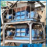 Mousse de haute performance/perte de cuisine/déchets municipaux utilisés/mini//pneu de rebut/machine en bois/en plastique de défibreur
