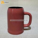doppia tazza di caffè colorata della birra 450ml