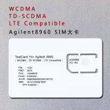 Tarjeta de prueba 3G 4G AG8960 de teléfono de la tarjeta SIM WCDMA TD-SCDMA estándar Lte SIM para Agilent 8960