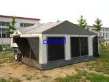 шатер трейлера туриста