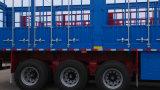 Прочный Tri-Axle загородки трейлер Semi с Axle Fuwa для Африки