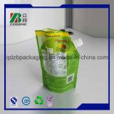 習慣によって印刷されるOEMの不規則なプラスチックフルーツジュースの飲料の包装の袋袋