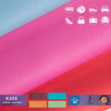 Couro colorido para sacos, sofá do PVC Rexine, caderno, decoração, mobília