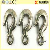 Gancho de leva estándar del alzamiento del ojo del acero inoxidable del fabricante ISO9001