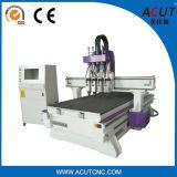 Máquina de estaca de madeira nova da máquina Acut-1325 do router do CNC