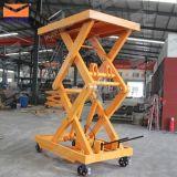 Petit matériel de levage fixe hydraulique de cargaison