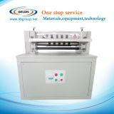 machine de fente semi-automatique de largeur de 600mm pour la feuille d'électrode de batterie d'ion de lithium
