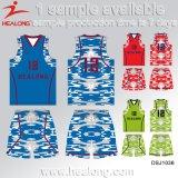 Sublimation-Jersey-Basketball-konstante Abnützung