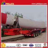 De sturende Verlengbare Hydraulische Aanhangwagen van het Blad van de Macht van de Wind van het Vervoer van de Apparatuur