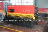 Машина для сбывания, автоматическая режа машина плиты CNC тавра QC12y-4*2500mm Durmapress режа с мотором Сименс