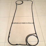Gaxeta sanitária do cambista de calor NBR/EPDM/FPM da placa da aplicação da indústria do leite