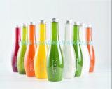 食品包装のためのねじ帽子ペット飲料の飲料水のびんが付いている着色されたジュースのプラスチックびん