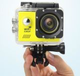 A câmera HD cheio 1080P 2.0 do esporte da ação de Sj7000 WiFi câmera 170 30m impermeável subaquática da lente do grau do LCD vai PRO estilo