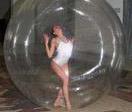 Aufblasbares Wasser-gehende Kugel, Wasser-Kugel, tanzende Kugel