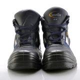 Sapatas de segurança de couro industriais (M-8175)