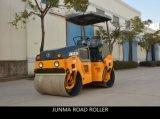 振動の道ローラー(JM803H)乗で油圧二重ドラム