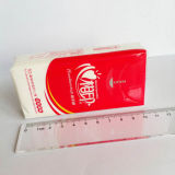 Línea de productos del tejido facial empaquetadora del papel