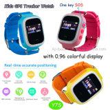 0.96 da '' relógios colorido novo do perseguidor do GPS tela para as crianças (Y7S)