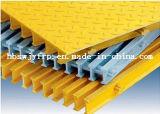 Решетка стеклоткани FRP GRP вогнутая от китайского изготовления