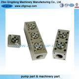Pièces d'usure de pièces de pompe centrifuge usinant des pièces