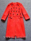 Пальто куртки шерстей зимы женщин способа напольное
