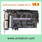 16のチャネルリアルタイム記録レートのGeovision Gv-1480A PCベースDVRのボード