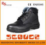 Sapatas de segurança de trabalho mornas Rh143 do inverno