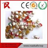 도로 안전 사려깊은 도로 반사체 렌즈 43 유리 구슬