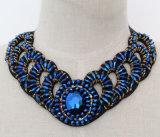 2017 Halsband van de Kraag van de Nauwsluitende halsketting van het Kostuum van het Kristal van de Charme van de Juwelen van de Manier de Ruige (JE0048)