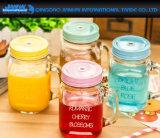 Farbige Saft-Speicher-Flasche mit Kappe und Griff