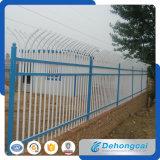 Frontière de sécurité résidentielle décorative de fer travaillé de sûreté (dhfence-27)