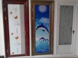 Portello di vetro della nuova stoffa per tendine di alluminio di stile di alta qualità/porta a battenti (ACD-001)