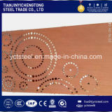 Plaat cor-Tien een Blad 1.5m van het Staal van Corten a/B/D van de Weerbestendigheid