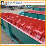 Misturador dobro do eixo do equipamento de processamento da matéria- prima do tijolo