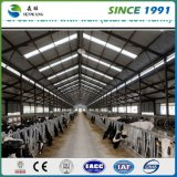 中国の製造者ライト鋼鉄構築デザインプレハブの研修会の大きいスパンの鉄骨構造の倉庫