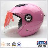 판매 (OP203)에 아름다운 빨간 기관자전차 또는 스쿠터 헬멧