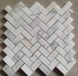 Calacatta Marmorsteinmosaik-Fliese