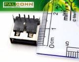 짧은 바디 USB2.0 암 커넥터